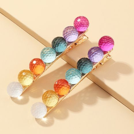Korea candy color simple  hair clip set  NHAU259429's discount tags