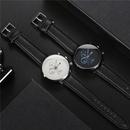 new fashion ultrathin mens business  calendar belt  threeeye belt watch NHSS259455