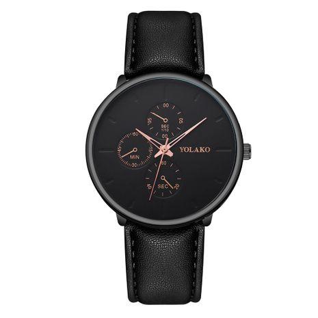 Reloj de hombre de cuarzo de tres ojos con cinturón ultrafino y vendedor caliente NHSS259456's discount tags