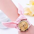cloth belt watch gauze striped cloth belt fashion watch NHSS259457