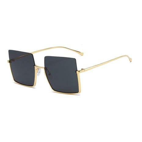 new retro  lower half frame square round face sunglasses  NHBA259543's discount tags