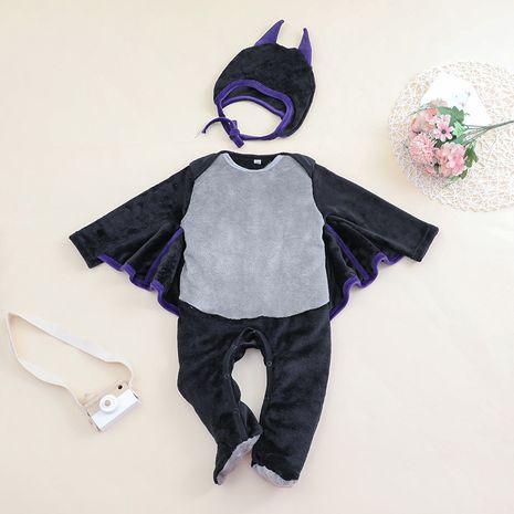 Halloween nouveau bébé à manches longues corps de chauve-souris une pièce Halloween carnaval vêtements NHLF259599's discount tags