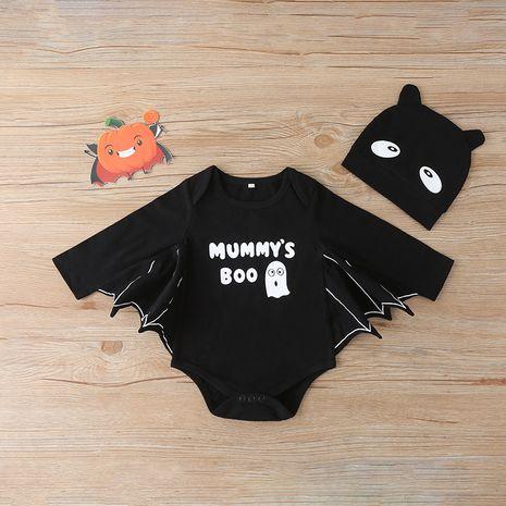 Combinaison bébé barboteuse Halloween combinaison triangle en forme de chauve-souris combinaison d'escalade NHLF259611's discount tags
