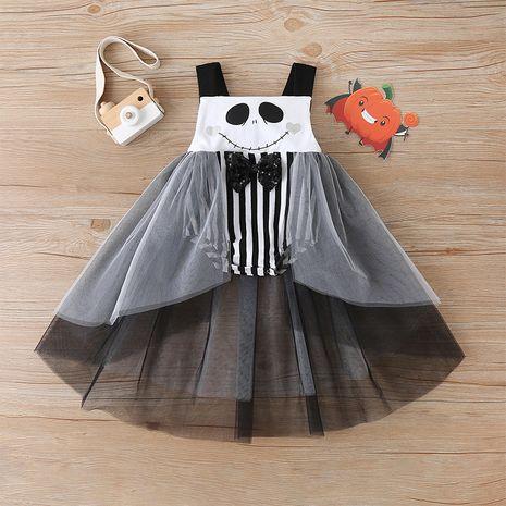 Vente chaude Halloween robe mignonne jupe pour enfants en maille en gros NHLF259616's discount tags