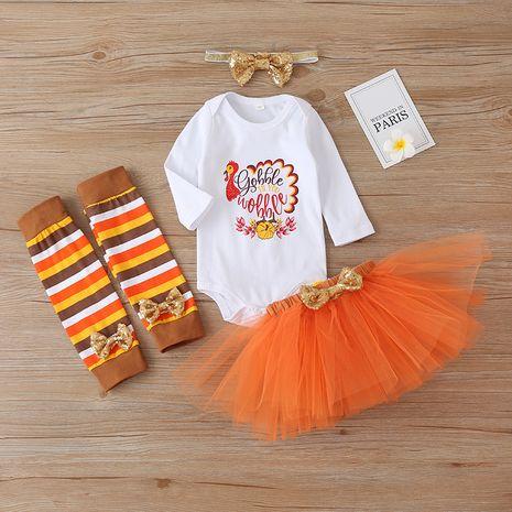 Ensemble de trois pièces pour fille de mode Halloween NHLF259619's discount tags