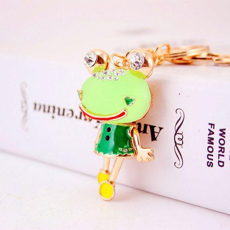 Porte-clés de voiture de grenouille de dessin animé de modèles de couple de résine créative coréenne NHAK259700's discount tags