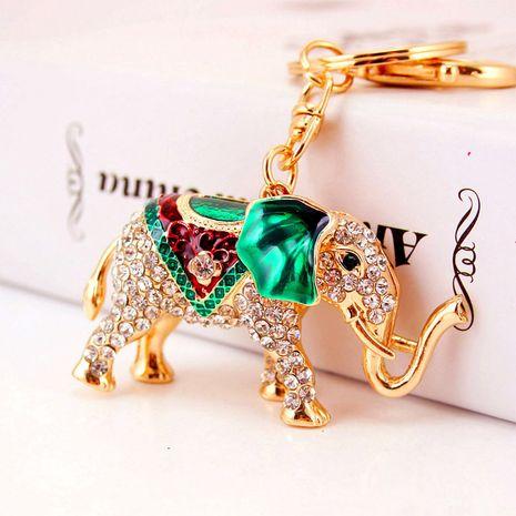 porte-clés éléphant diamant mignon créatif NHAK259701's discount tags