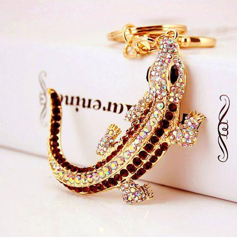 Porte-clés lézard diamant mignon créatif coréen NHAK259709's discount tags