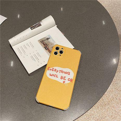 Étui pour téléphone portable Apple 11pro Max anglais pour iPhone7 8plus Soft Shell XR en relief SE2 NHFI259727's discount tags