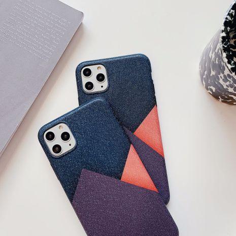 Cas de téléphone portable Apple 11Pro 8plus géométrique simple art couture pour iPhone7P XS Soft Shell SE2 NHFI259730's discount tags