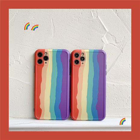 Étui pour téléphone portable Rainbow Apple 11Pro Max pour iPhone7 SE2 Housse de protection Huawei P40pro NHFI259731's discount tags
