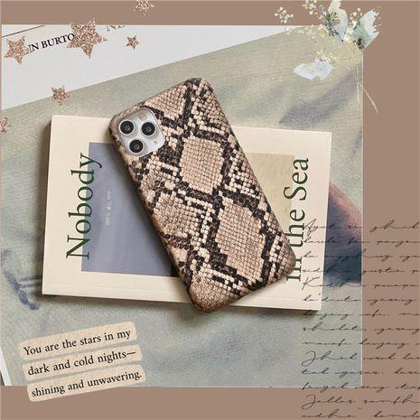Motif de peau de serpent froid de luxe adapté à l'étui de téléphone portable Apple 11ProMax iPhone7 8plus XR se2 NHFI259745's discount tags