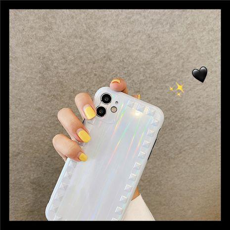 Aurora Cream White Apple 11Pro Max Creative Willow Nail Phone Case pour 8plus Protection SE2 XR NHFI259750's discount tags