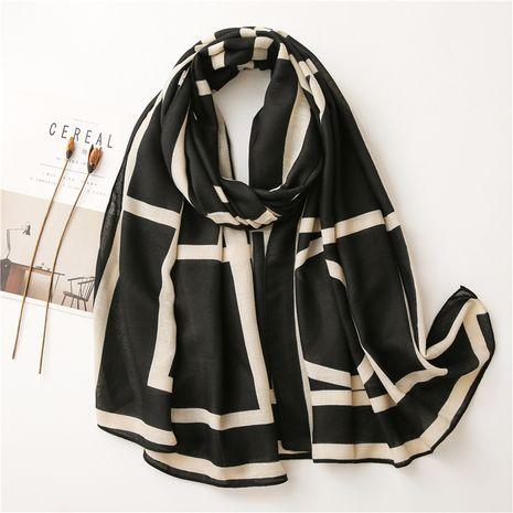Vente chaude de mode foulard géométrique foulard en soie en gros NHGD259789's discount tags