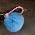 NHDI1134023-Sky-blue-Twisted-rope-(8cm-wool-ball)