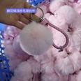NHDI1134033-Pink-Twisted-rope-(8cm-wool-ball)