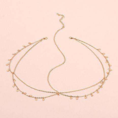 vente chaude mode nouveau style bohème petite chaîne de tête de paillettes style ethnique mode bandeau accessoires de cheveux NHRN259951's discount tags