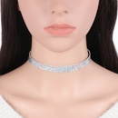 fashion new choker doublesided laser light necklace neck chain jewelry NHRN259962