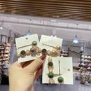 Hot selling fashion pearl diamond white crystal crown hairpin wholesale NHWF259982