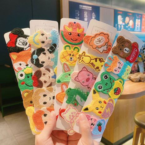 Hot selling fashion cartoon animal fruit hairpin wholesale NHCQ259995's discount tags