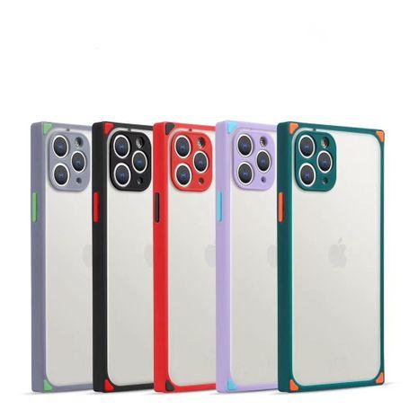 Convient pour Apple 11 étui de téléphone portable iphonese2 trou de précision givré nouvelle housse de protection NHKI259753's discount tags