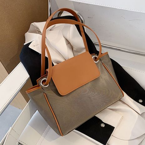 Simple ladies large-capacity bags fashion one-shoulder bag messenger bag NHLH260199's discount tags