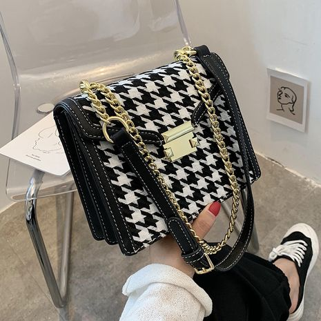 Popular fashion all-match messenger bag  one-shoulder small square bag NHLH260202's discount tags