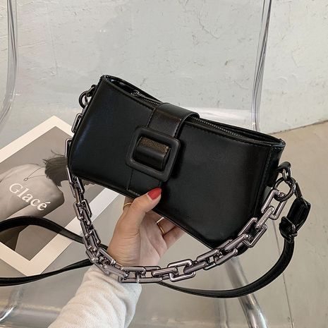 Simple texture fashion messenger bag wholesale NHLH260211's discount tags