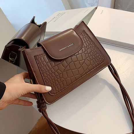 Hot selling retro ladies shoulder small bag fashion texture messenger bag NHLH260213's discount tags