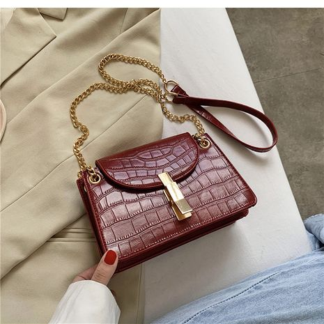 Hot selling fashion retro small bag popular fashion single shoulder messenger small square bag NHLH260216's discount tags