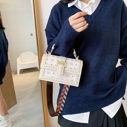 La moda vendedora caliente imprimió el solo bolso retro del mensajero del hombro NHLH260219