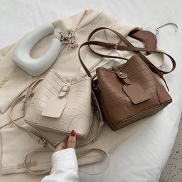 Venta caliente del bolso del cubo del bolso del mensajero del bolso de la moda al por mayor NHLH260222