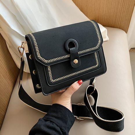 Hot selling fashion one-shoulder small square bag messenger bag NHLH260233's discount tags