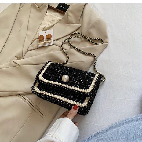 Vente chaude mode populaire messager à une épaule petit sac carré NHLH260234's discount tags