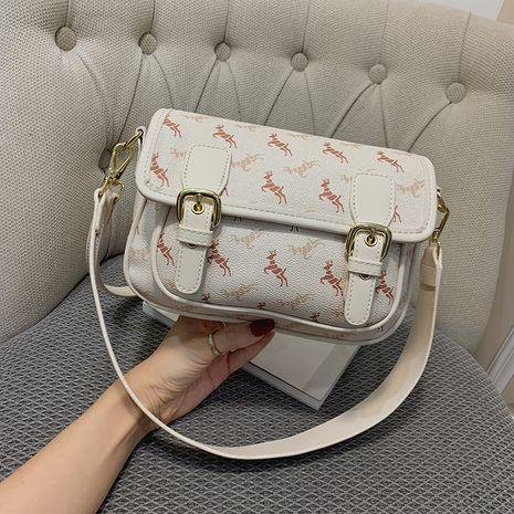 Petits sacs populaires sac de messager de mode rétro simple épaule petit sac carré NHLH260237's discount tags