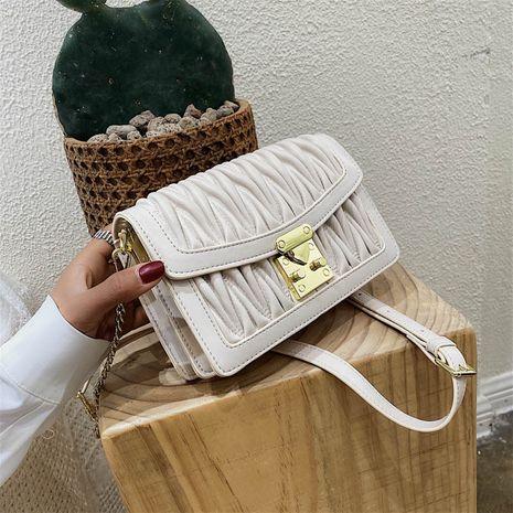 Bolso cuadrado vendedor caliente del cuadrado del mensajero del solo hombro del doblez salvaje de la moda NHLH260238's discount tags