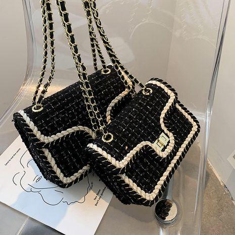 Sac de messager de mode de vente chaude un petit sac carré d'une épaule NHLH260245's discount tags