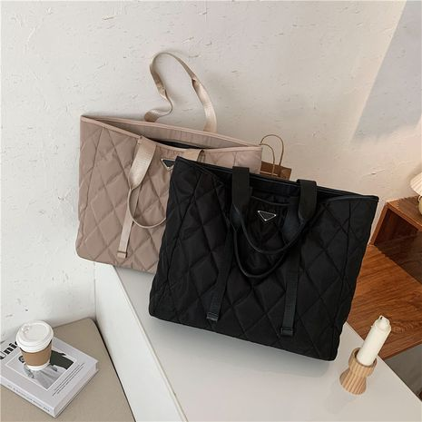 New large-capacity autumn new trendy fashion shoulder cotton bags NHLH260263's discount tags