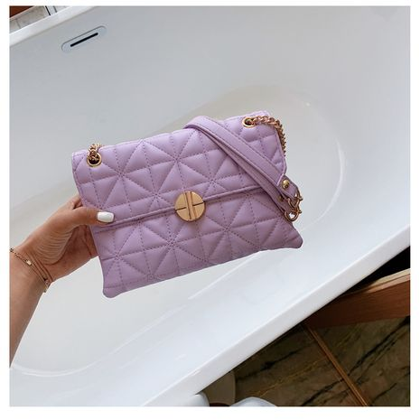 Hot selling fashion embroidery messenger bag fashion one-shoulder small square bag NHLH260291's discount tags