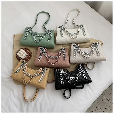 Hot selling fashion rhombus embroidery thread handbags wholesale NHLH260302's discount tags