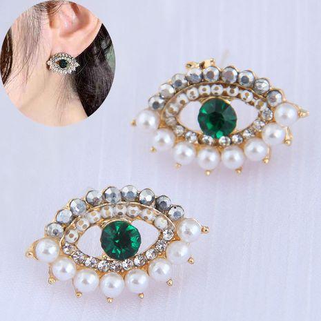 Boucles d'oreilles à la mode coréenne Sweet OL Demon Eye NHSC260326's discount tags