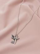Hot selling Fashion Angel Cross womens  Necklace Set  NHGU251987