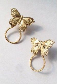 Fashion new alloy butterfly earrings for women hotsaling wholesale NHGU252006