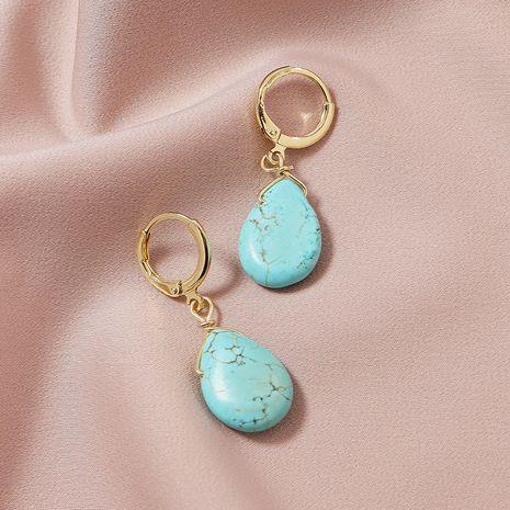 fashion  natural stone hot sale earrings NHGU252011's discount tags