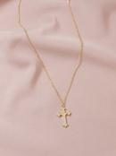 Hot selling Fashion Metal Cross womens Necklace  NHGU252062