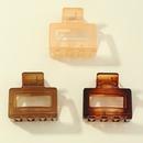 Korean elegant back head plate hair clip medium type acrylic hair clip Acetic wholesale NHAU252075