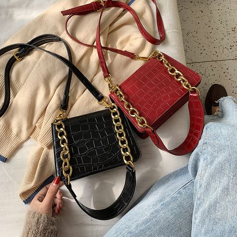 Underarm handbags new fashion style square bag retro single shoulder messenger chain wholesale NHLH252178's discount tags