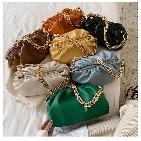 new fashion  shoulder simple  cloud bags wholesale NHLH252184's discount tags