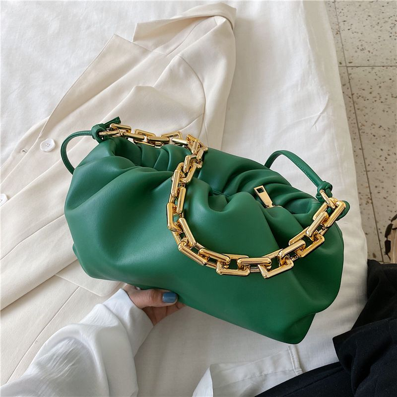 Popular Womens Summer New Fashion One Shoulder Underarm Cloud Messenger Bag wholesale NHLH252209
