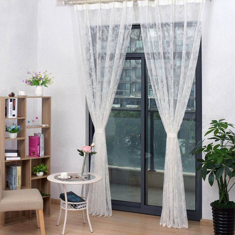 1.5*2m single home venue layout party supplies white lace curtains  hot-saling wholesale NHNU252525